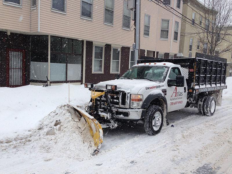 Snow Plowing Contractor